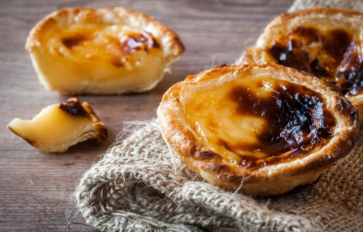 Pastel de nata, recette du petit flan portugais :