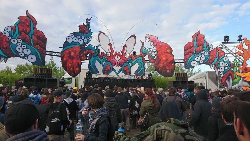 tecknival 2018 Les Insoumis festival rave techno